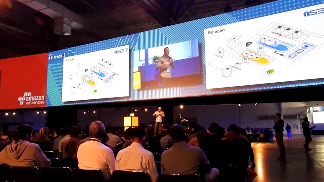 iSET na AWS Summit SP 2017